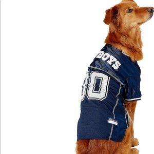 NWT Dallas Cowboys Dog Jersey xxl
